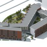 Impressie van het nieuwe woon- en winkelcomplex