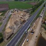 Overzichtsfoto projectlocatie BS10 onderdoordang Dalmsholterdijk