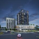 Impressie nieuwbouw Hotel van der Valk - Venlo