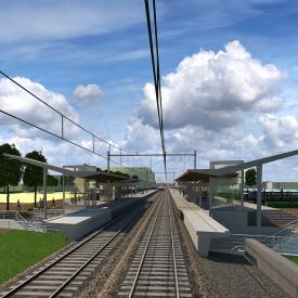 Animatiefoto onderdoorgang Spoorzone - Elst