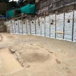 Maximale ontgraving en affrezen overige gedeelte CSM-wanden