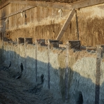 Affrezen bovenste gedeelte CSM-wand en opzoeken ankerstoelen in CSM-wand t.b.v. het boren van de groutankers