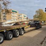 Afbouwen materieel en transport