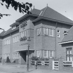 Oude foto bestaande school Sint Martinus