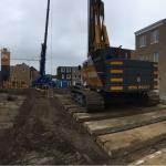 Inrichten bouwlocatie en opbouwen materieel