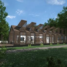 Impressie uitbreiding Villa Vredelust - Tilburg