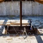 Bouwkuip ontgraven eerste werkvloer gestort