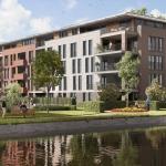 Impressie van nieuwbouw appartementencomplex Buytenhof