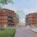 Impressie nieuwbouw appartementen complexen