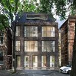 Impressie nieuwbouw luxe appartementencomplex