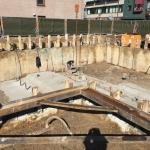 Maximale ontgraving bouwkuip en storten keldervloer