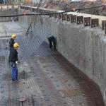 Oplevering bouwkuip voor storten vloer