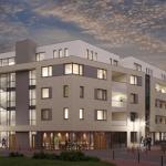 Impressie van nieuwbouw woon- en familiecentrum