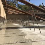 Cementvloer gestort