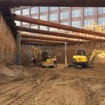Ontgravingswerkzaamheden bouwkuip