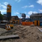Productie in hartje Groningen aan de Grote Markt