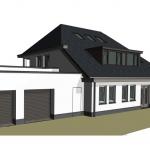 Impressie nieuwbouw Villa Noordwijk