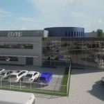 Impressie nieuwe hoofdkantoor BAS Trucks