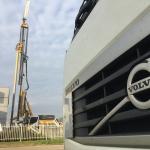 Bauer machine & BAS Volvo Trucks