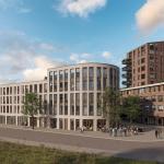 Impressie nieuwbouw appartementencomplex Gonnet 22 - Gonnetstraat, Haarlem