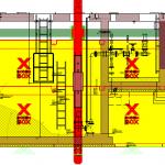 Impressie van het pompstation binnen een BodemBoX-systeem