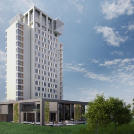 Impression of the newly built Hotel van der Valk Lelystad