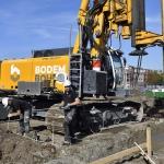 Productie met Bauer RG21 ter realisatie van CSM-wanden