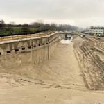 CSM-wand verankerd met groutankers t.b.v. aanleg Metro Tunnel