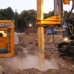 Afronding cutter soil mix freeswerkzaamheden
