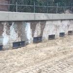 Monteren ankerstoelen en afspannen groutankerrij 1 door Geotech FS