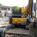 Opbouwen BodemBouw materieel
