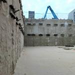 Max. ontgraving bouwkuip met CSM-wand dubbel verankerd