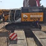 Aanvoer BodemBouw materieel