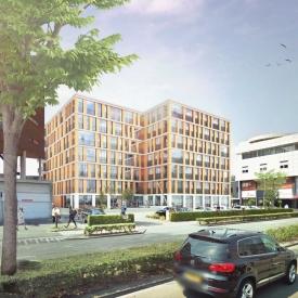 Animatiefoto van nieuwbouwcomplex Villa de Eemhorst te Amersfoort