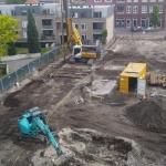 Productie CSM-wanden t.b.v. een gesloten polderbouwkuip